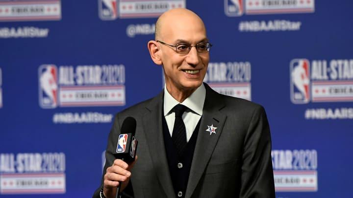 Adam Silver es un abogado estadounidense y comisionado de la NBA desde el 1 de febrero de 2014