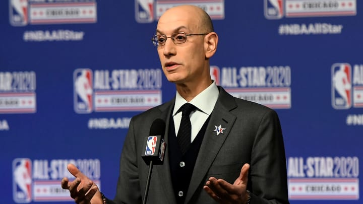 NBA commissioner says 'everything is on the table' for regular season to resume.