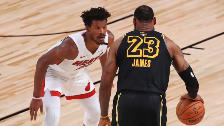 Jimmy Butler, LeBron James