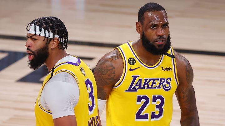 Davis et LeBron partiront à la recherche de leur deuxième bague de championnat avec les Lakers
