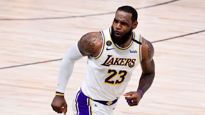 LeBron James, 2020 NBA Finals - Game Six