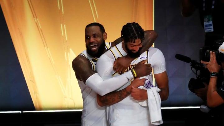 Anthony Davis and LeBron James