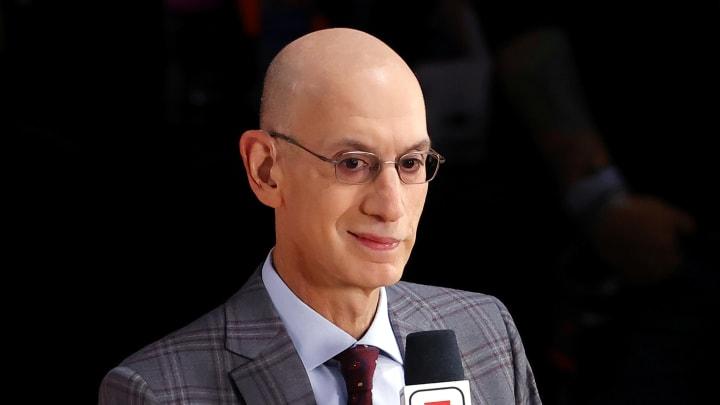 Adam Silver, 2020 NBA Finals - Game Three