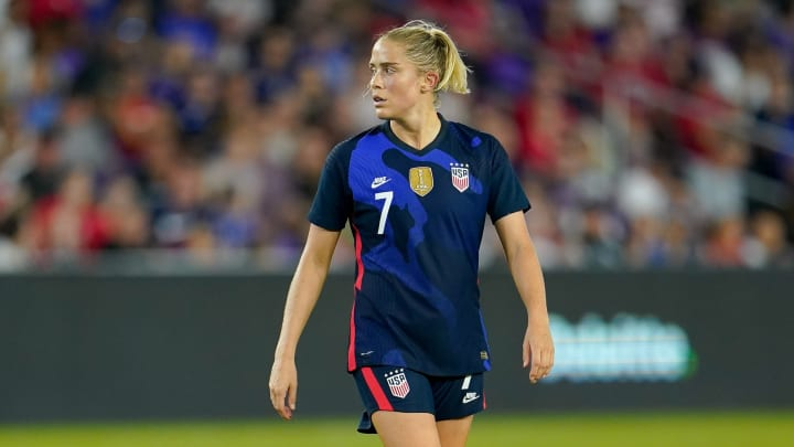 USWNT centre-back Abby Dahlkemper has joined Man City