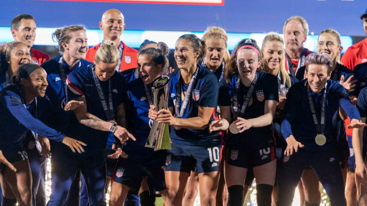 The USWNT have won the SheBelieves Cup on four occasions
