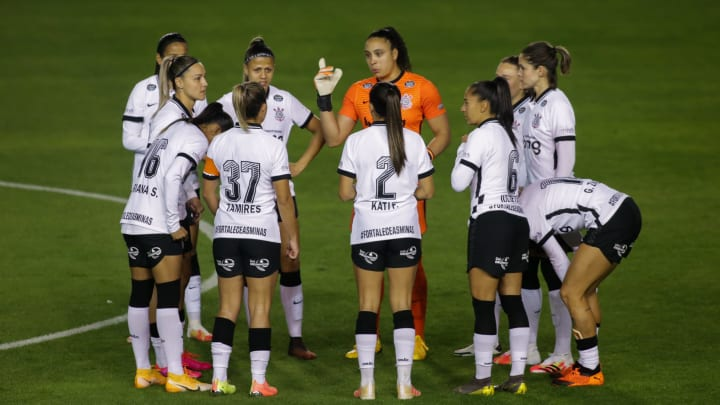 2020 Womens' Brasileirao A1: Corinthians v Ferroviaria Play Behind Closed Doors Amidst the Coronavirus (COVID - 19) Pandemic