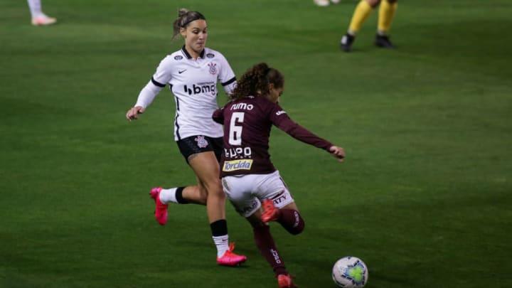 2020 Womens' Brasileirao A1: Corinthians v Ferroviaria Play Behind Closed Doors Amidst the
