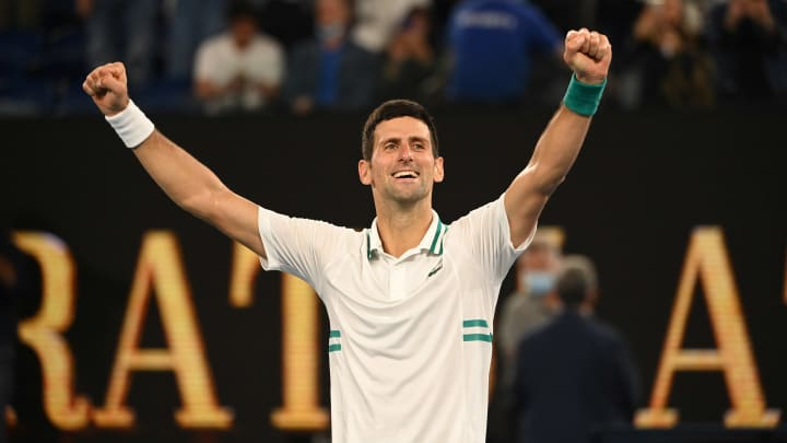 Novak Djokovic, 2021 Australian Open: Day 14