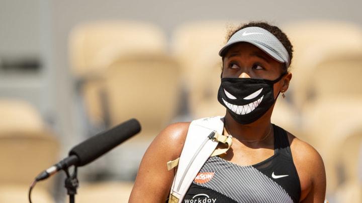 Naomi Osaka at the French Open.