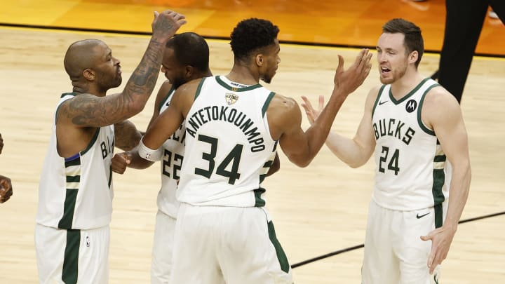 The Bucks are in the driver's seat in the NBA Finals.