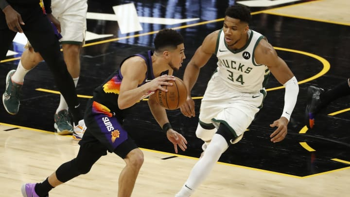 Who won NBA Finals MVP 2021? Giannis Antetokounmpo and Devin Booker are the likely contenders.