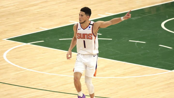 Booker has been outstanding from the free throw line in these playoffs.