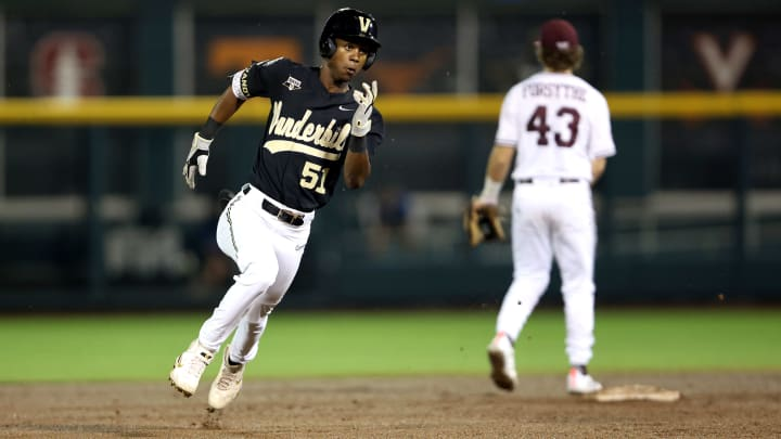 Vanderbilt vs Mississippi State odds, betting lines and spread for College World Series on FanDuel.