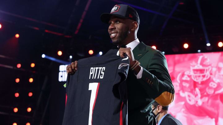 Kyle Pitts' rookie of the year odds are disrespectful after Round 1 of the 2021 NFL Draft. |