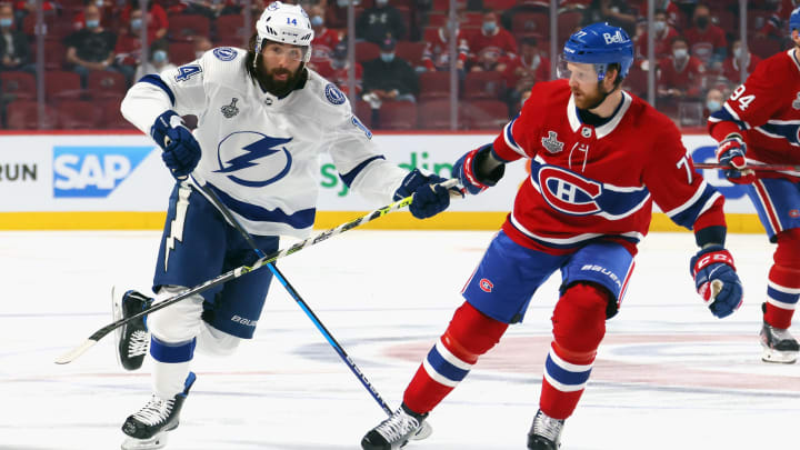 Lightning vs Canadiens Game 5 predictions and odds for NHL Stanley Cup Finals.