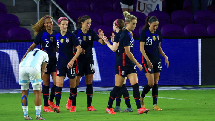 The USWNT have now won seven in a row in the SheBelieves