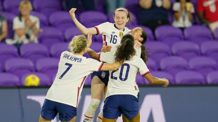 Rose Lavelle was the USWNT goalscorer against Canada
