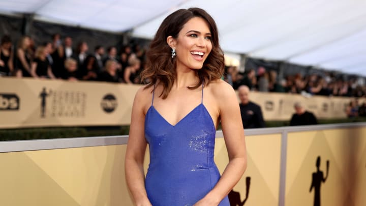 Mandy Moore, 24th Annual Screen Actors Guild Awards - Red Carpet