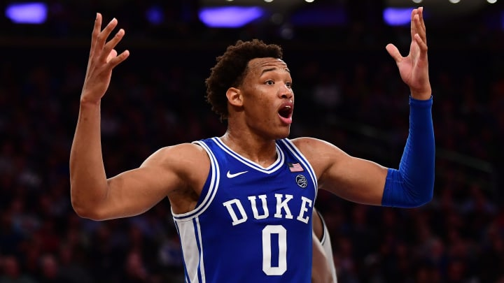 Duke is ranked No. 10 in the AP Poll, but has the fourth-best odds to win the national title.
