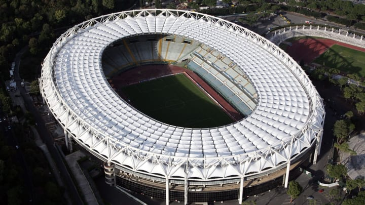 A suspected car bomb was found near the Olympic Stadium