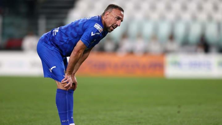 Franck Ribery hält sich derzeit fit und sucht eine neue Aufgabe