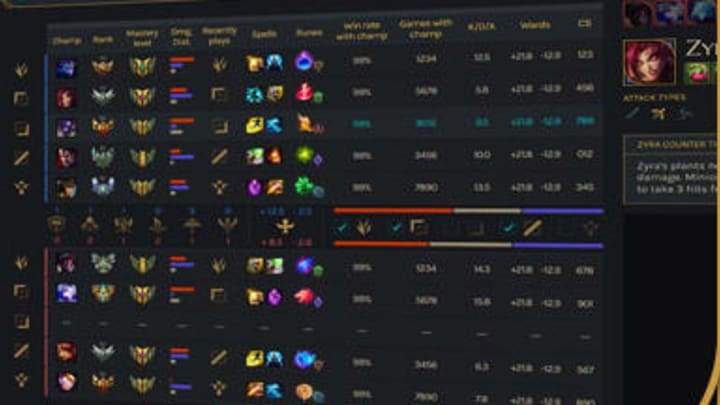 Facecheck is an Overwolf application for League of Legends
