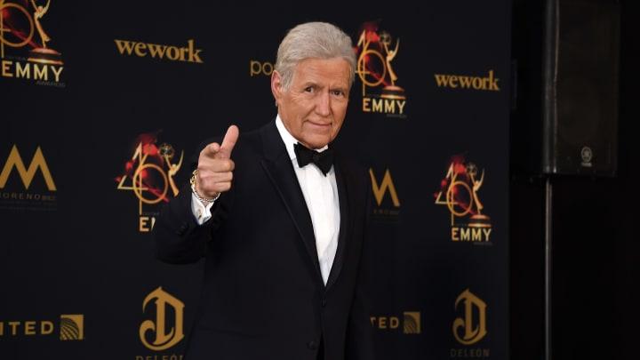 Alex Trebek, 46th Annual Daytime Emmy Awards - Press Room