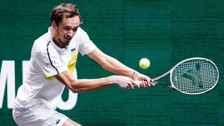 Daniil  Medvedev podría ascender al puesto 2 del ranking mundial de tenis