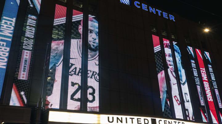 En la edición de 2020 del Juego de Estrellas se realizó en el United Center de Chicago