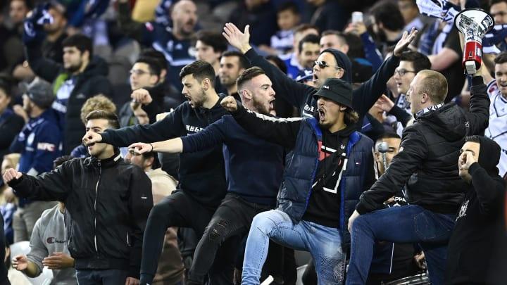 Der aktive Support von Traditionsklub Melbourne Victory