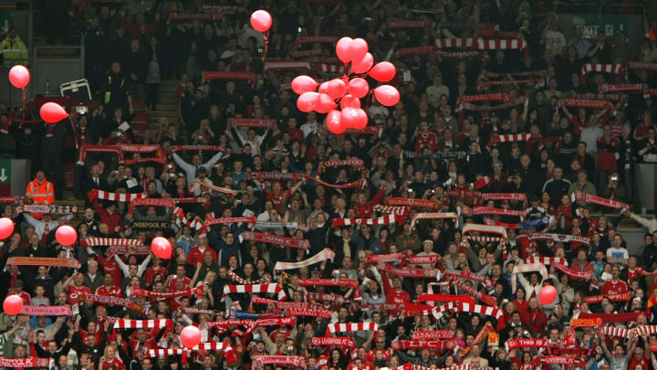 10,000 Liverpool fans will be allowed into Anfield to watch their team play Crystal Palace
