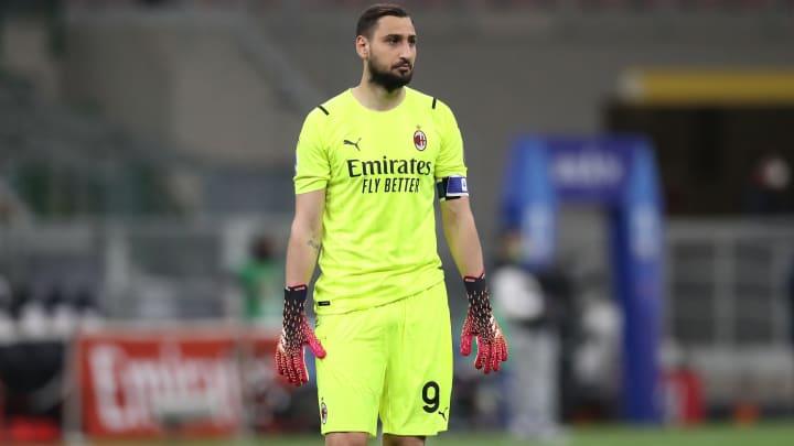 Gianluigi Donnarumma is set to leave AC Milan