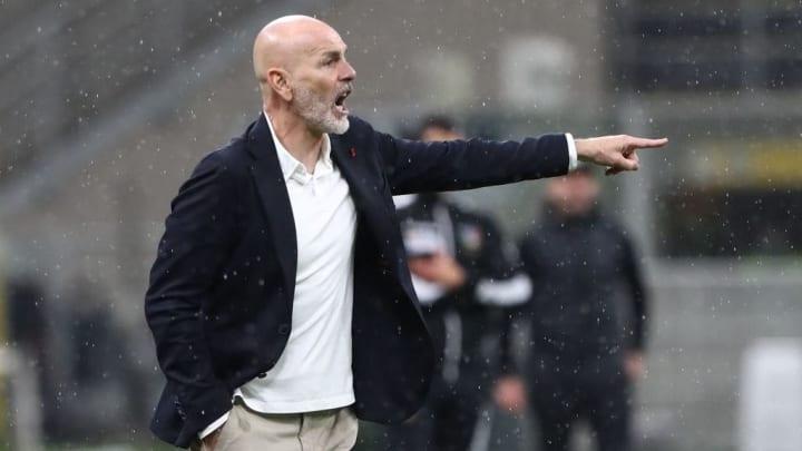 AC Milan manager Stefano Pioli