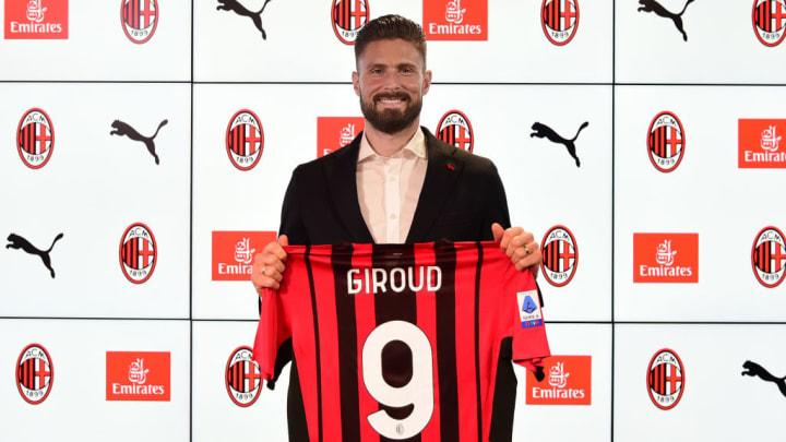 Olivier Giroud sous ses nouvelles couleurs.