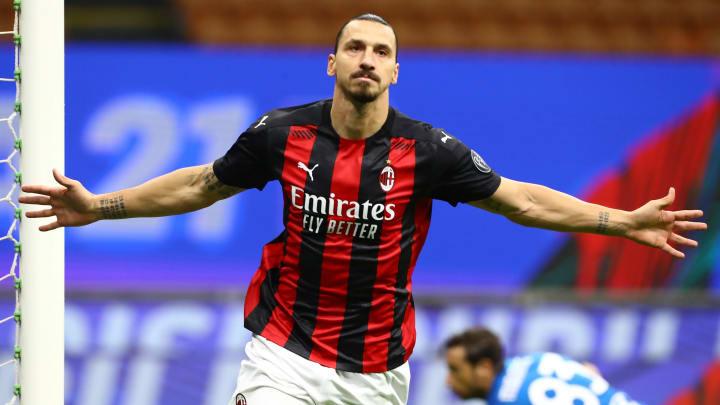 Zlatan Ibrahimovic führt die Torjägerliste der Serie A an