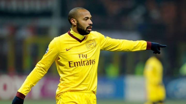 Thierry Henry Arsenal Premier League