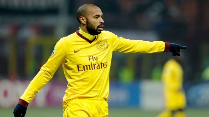 Thierry Henry Arsenal MLS Barcelona Premier League