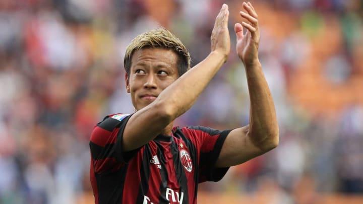 Keisuke Honda Botafogo Milan