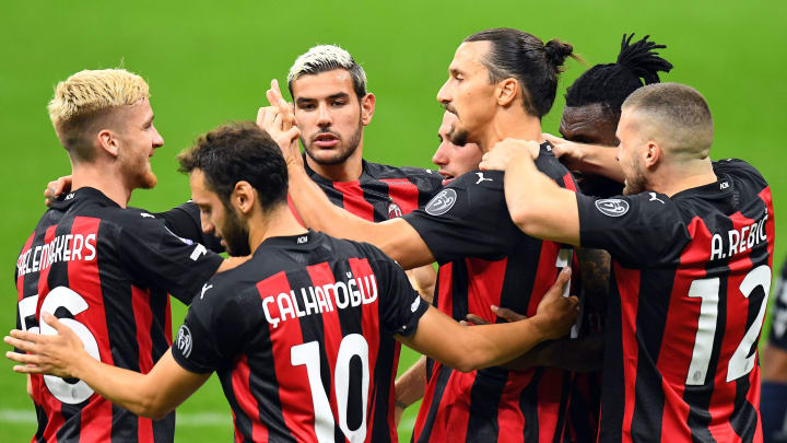 Milan opened their 2020/21 season with a 2-0 victory over Bologna
