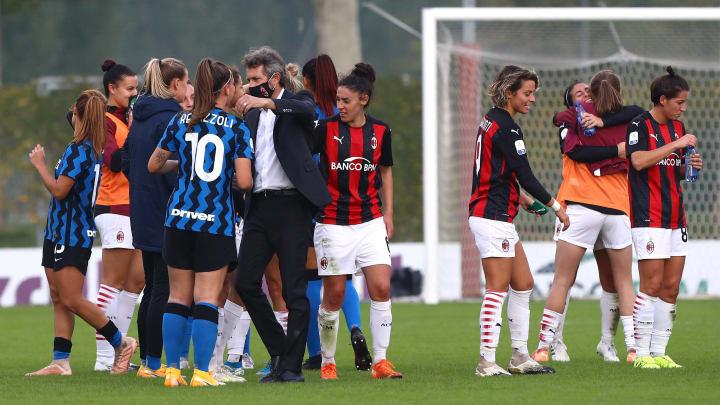 Milan v Inter - Serie A Femminile