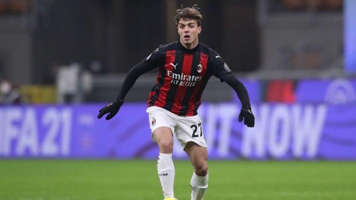 Daniel Maldini Paolo Maldini Milan