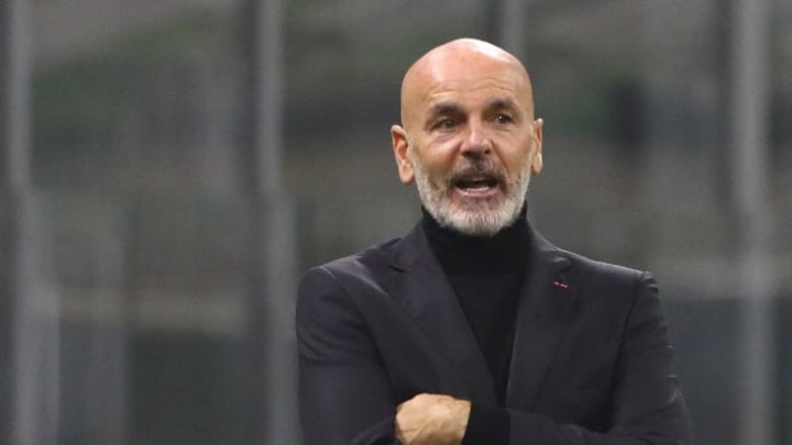 Stefano Pioli took over at AC Milan in 2019