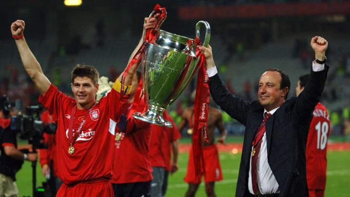 Steven Gerrard, Rafael Benitez