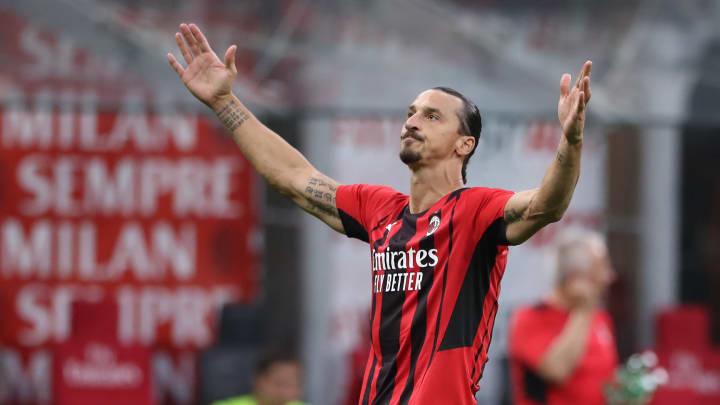Zlatan was back among the goals on Sunday