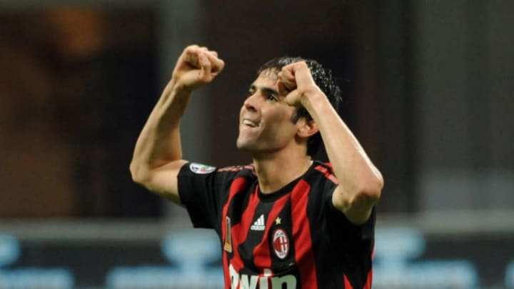 Kaka became a superstar during his time at Milan