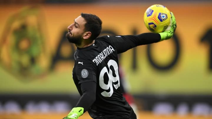 Donnarumma has kept more clean sheets than any other keeper in Serie A this season