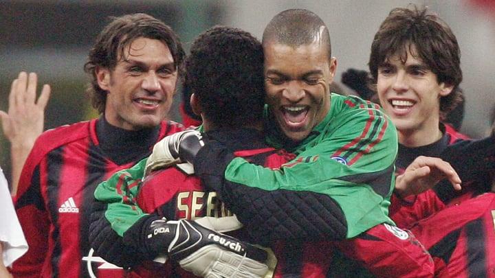 AC Milan's Brazilian midfielder Serginho
