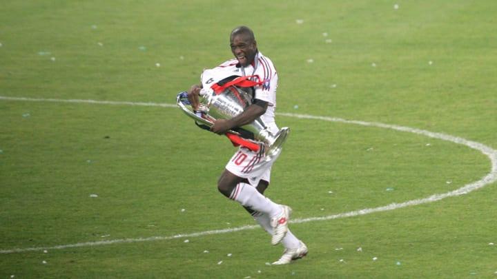 AC Milan's Dutch midfielder Clarence See...