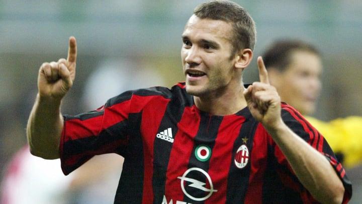 AC Milan's Ukrainian striker Andriy Sche