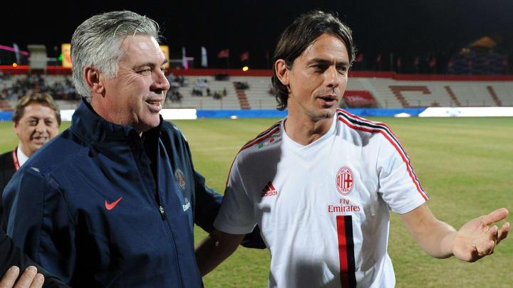 AC Milan's forward Filippo Inzaghi speak